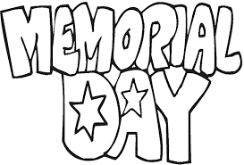 Small Picture Happy Memorial Day Coloring Pages Sheets For Preschoolers