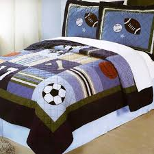 15 best Sports Quilts images on Pinterest | Bedroom, Football ... & boys sports quilt Adamdwight.com