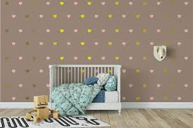 heart wall decals canada mirror shaped