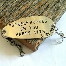 traditional steel gift for 11th anniversary