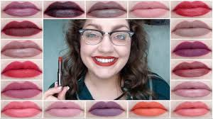 makeup geek iconic lipsticks all 20 swatches you