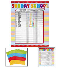 Printable Attendance Charts For Bible Class