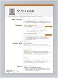 Resume Modern Template Free Download Resume Templates Modern Resume Template Free Download Resume