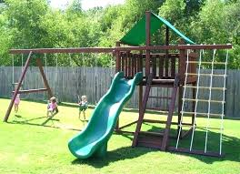 simple wooden swing set plans ideas garden homemade sets diy wood photo gallery how to build swing set plans simple wooden diy brackets