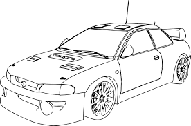 Small Picture Rally Car Coloring Pages anfukco