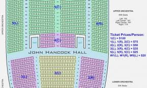 Radio City Music Hall Nyc Seating Chart Faithful Wharton Center Great Hall Seating Chart Orchestra