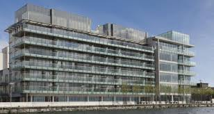 facebook office in dublin. the building at hanover reach in dublin docklands currently occupied by facebook office t