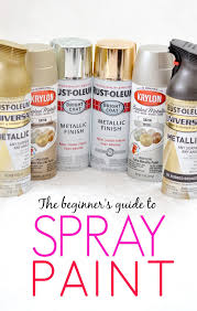 Everything you need to know about spray paint all in one place! This is a