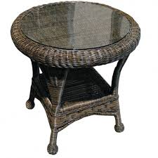 marvelous wicker side table canada round white wicker side table charm white wicker end table