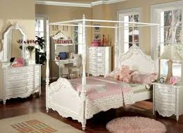 Bedroom Girl Canopy Bedroom Sets Girls Pink Bedroom Set Childrens