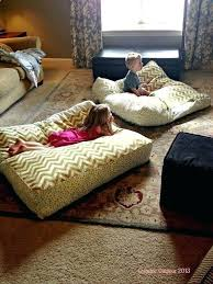 decorating with floor pillows. Diy Bedroom Flooring Ideas Imposing Design Giant Floor Pillows Home 3 Decorating Walls With P