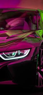 bf27-bmw-rainbow-red-purple-car-art