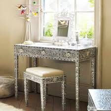 Silver Bedroom Chair Outstanding Furniture For Girl Bedroom Decoration Using Vanity
