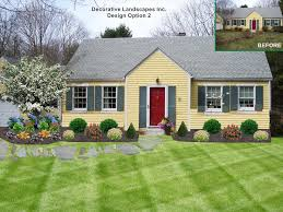front yard decorating ideas home