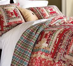 christmas log cabin quilts | Christmas Log Cabin Quilt | christmas ... & Log Cabin Patchwork Quilt & Sham from Pottery Barn Adamdwight.com