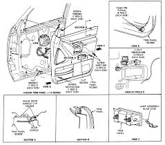 ford explorer radio wiring diagram discover your 2001 ford explorer parts diagram
