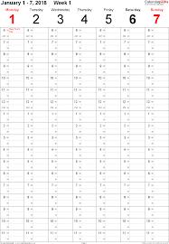 Printable Week Planner Printable Week Numbers 2018 Download Them Or Print