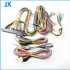 aliexpress com buy lcd jamma harness 28 pin with 6,8 buttons How To Wire A Jamma Harness lcd jamma harness 28 pin with 6,8 buttons wires for arcade game machine how to install a jamma harness
