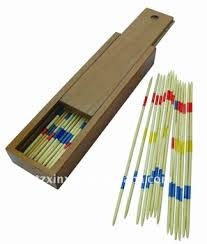 Game With Wooden Sticks Wooden Mikado Game Pick Up Sticks Game With Wooden Box Buy 21