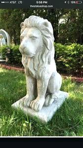 outdoor lion statue concrete lion garden statues concrete lion pair garden statue tall concrete outdoor lion outdoor lion statue
