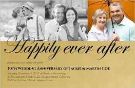 50th anniversary invitations Wedding Anniversary Banners Design golden formal 50th wedding anniversary party invitation 50th wedding anniversary banner designs