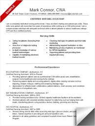 ... Cna Resume Skills 3 Resumecna Samplecna Example List ...