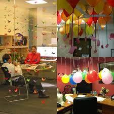 Office Birthday Decoration Ideas With List Of Birthday Surprise