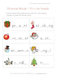 Collection of Christmas Worksheets - christmas missing letters ...