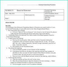 standard operating procedures template word policy procedure template word policy procedure template