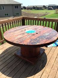table fire pit rustic wooden spool fire pit table diy fire pit table kit