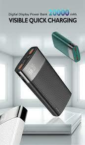 Kuulaa 20000 MAh Power Bank Dành Cho iPhone Samsung Huawei Loại C PD Sạc  Nhanh + Sạc Nhanh 3.0 USB Dự Phòng Powerbank pin Ngoài|Power Bank