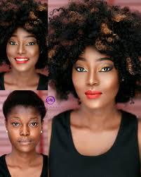 makeup transformation fashionpolicenigeria 1