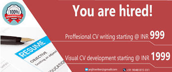 Resume Writing Service Get best CVs professional resume writing services in Kochi 37