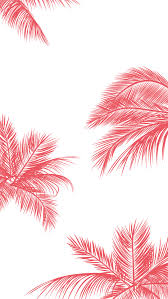pretty phone wallpaper. Interesting Phone 1081x1921 Coral Pink White Palm Trees Leaves Iphone Phone Wallpaper  Background Lockscreen To Pretty Phone Wallpaper A