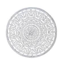 Get great deals on wooden round home décor plaques & signs. Grayson Lane Large Round White Carved Wood Wall Decor Traditional Wood Wall Panel Decor Handmade Wood Wall Art Floral Wall Art Wood Decor 36 X 36 In The Clocks Department At Lowes Com