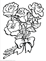 valuable k971744 flower coloring book pages roses and flowers coloring pages coloring book pages of flowers coloring page rose coloring pages of top spring