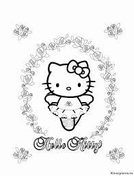 Kleurplaten Printen Hello Kitty Kleurplaatsite