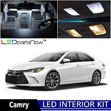 2015 toyota camry white. ledpartsnow 20152017 toyota camry led interior lights accessories replacement package kit 10 pieces 2015 white