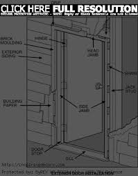 exterior door parts. exterior door threshold parts photo - 5