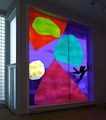 modern stained glass be careful hockney can shatter meval