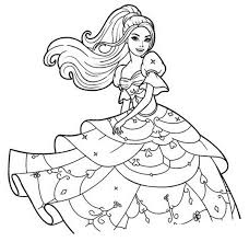 Coloriage Princesse Gratuit Imprimer 4 On With Hd Resolution