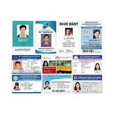 piece 3482306362 Kard Id 12 Rs Kraft Rectangular Cards Pvc College Id