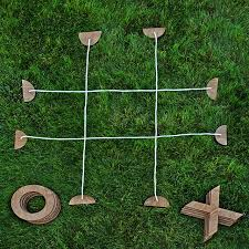 Wooden Lawn Games Backyard Tic Tac Toe backyard games wooden beach games 64