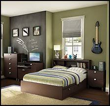 rich chocolate finish and sleek, contemporary lines - boys bedroom furniture
