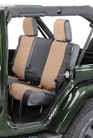 coverking rear ballistic nylon seat covers for 11 12 jeep wrangler jk 2 door quadratec