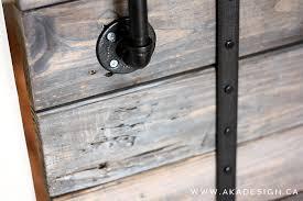 easy diy barn door track. DIY Pallet Sliding Barn Door And Feature From AKA Design With Modern Easy Diy Track R