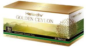<b>Черный чай Heladiv GC</b> Vintage Green <b>Tea</b> в количестве 25шт