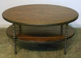 Industrial Round Coffee Table Table Rustic Round Coffee Industrial Medium Otto Thippo