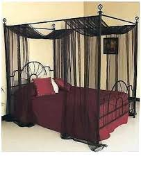 Full Size Canopy Beds Queen Canopies Full Size Canopy Bed Wood ...