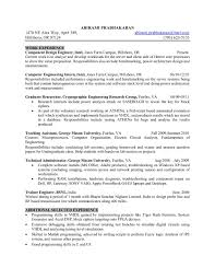 Wireless Test Engineer Sample Resume Supply Chain Analyst Cover